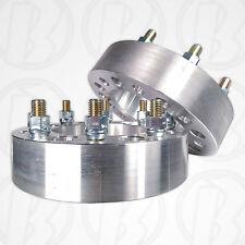 "2pc. | USA MADE 8 Lug 6.5"" To 8 x 6.5"" Wheel Adapter Spacer 2"" 14mm 1.5 Stud"
