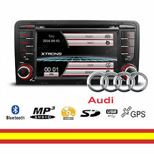 Radio CD para Audi A3 y S3 USB Full HD Bluetooth GPS Mirroring Soporta camara