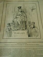 Typo 1888 - Remplacer au Palais la statue de la Justice