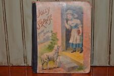 Jolly Surprise Story Book McLoughlin Bros 1908 As Is- crafts art pages to frame