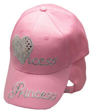 Princess Pink Heart Ladies Woman Embroidered Cap Hat RAM