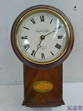Wall Clock English Made Solid Mahogany