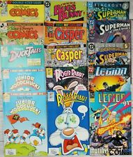 Lot of 185+: Assorted Comics Disney Dc Harvey Bugs Bunny Casper Superman More!