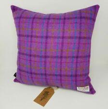 Harris Tweed Purple Cushion Covers Decorative Cushions