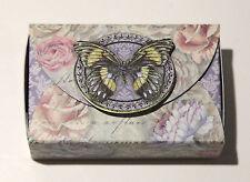 NWT Punch Studios Verbena Bath Bar in a Butterfly Gift Box