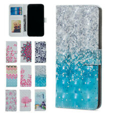 Pattern Leather Flip Wallet Phone Case Cover For Samsung Galaxy A70 A50 A30 A20