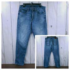 LUCKY BRAND Light wash 121 HERITAGE SLIM Mens Jeans 34x32