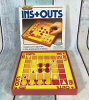 Ins + Outs - A Game Of Tactics - Spear's Games. Vintage 1984.
