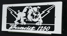 "Radiator cover / radiator guards Suzuki GSF 1250  Bandit 07>14 ""Bulldog"" +grill"