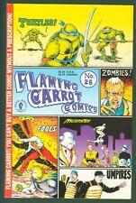 FLAMING CARROT COMICS #26 Teenage Mutant Ninja Turtles (1991) Dark Horse FINE