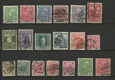 AUTRICHE 18 timbres oblitérés anciens / T2522