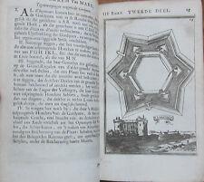 Mallet: De Werken van Mars 100+ Plates Town Views Napoli Madid etc. - 1695