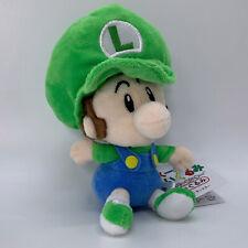 """Super Mario Baby Luigi Felpa Blanda Juguete World Muñeca De Peluche Animal de Peluche 6"""""""