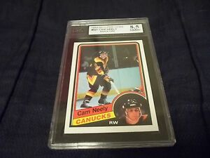 1984-85 OPC O-Pee-Chee #327 Cam Neely Rookie Bruins - KSA 8.5 NMM+