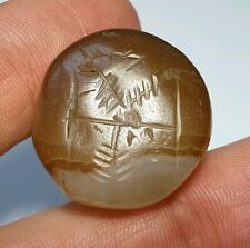 25mm ANCIENT LARGE SASSANIAN AGATE SEAL BEAD