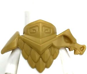 Lego New Pearl Gold Minifigure Armor Breastplate Shoulder Pads Dragon Piece