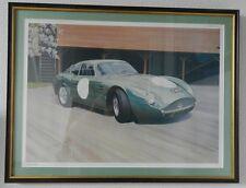 "1996 Graham Bosworth signed Limited Edition framed Automotive print 24"" X 18"""