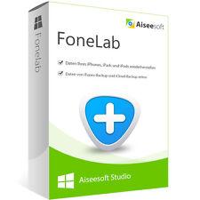 FoneLab 8 Aiseesoft Windows dt.Vollversion- lebenslange Lizenz ESD Download