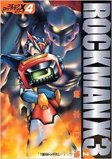 Rockman Mega Man manga Book Rock man  X3 #2