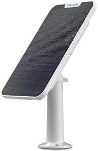 New 4W Solar Panel Compatible for Eufycam 2/2 Pro/2C/2C Pro/E, IP65 Weatherproof