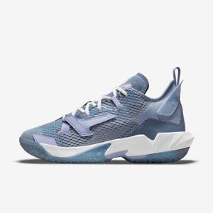 """New Nike Jordan """"Why Not?"""" Zer0.4 PF (CQ4231-400) - Indigo Fog"""