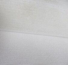 Interlock Tapiz Lienzo 18 Conde Zweigart Mono 50 X 100cm de bordado-blanco