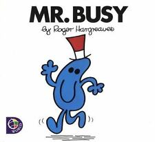 Mr. Busy by Roger Hargreaves (2000, Paperback)