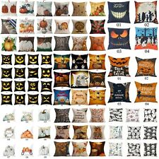 Halloween Pillow Cover Decoration Cushion Cover Sofa Waist Throw-Pillow Cover