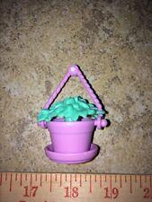 Barbie Purple Pot Potted Fern Plant Flower Home Decor Accessory Bratz Liv