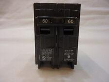 Siemens 2 Pole 60 Amp Circuit Breaker Q-260 120/240V Type QP