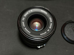 Canon New FD NFD 35mm F/2 Wide Angle MF Lens  Minty But Read