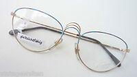 Gestell Brillen Rahmen große Butterflyform Metall Frauen Fassung lunettes size M