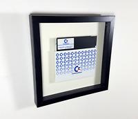 🖬 Commodore 64 Original Floppy Disk NOS Diskette Disk C64 Framed gerahmt XMAS