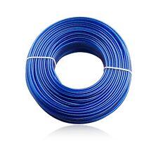 NEU Wäscheleine Wäscheschnur Ersatzleine Wäschespinne Stahlkern 60m deluxe blau