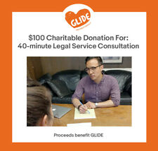 $100 Charitable Donation For: 40-minute Legal Service Consultation