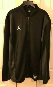 Nike Air Jordan Men's M L XL 2XL Jumpman Full Zip Jacket Black 924707-010 New