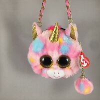 2020 Ty Fashion Beanie Boos Giselle The Leopard Mini Crossbody Purse for sale online