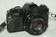 Sears KSX Super camera, 50 mm 1:7 lens, batteries, for student photography class