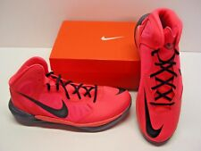 Nike Prime Hype DF Dual Fusion Basketball Hot Lava Sneakers Shoes Mens 10.5