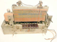 vIntage GENERAL ELECTRIC RADIO 7 TUBE unknown CHASSIS - tested / performing well