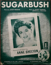 Anne Shelton Sugarbush by Josef Marias derived from Veld Song – Pub. 1952