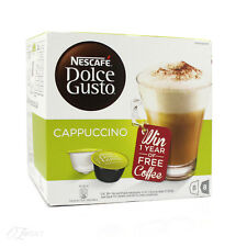 Nescafe Dolce Gusto Cappuccino Coffee Pods 8 Servings