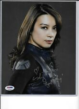 MING-NA WEN AUTO AUTOGRAPH 8 X 10 PHOTO PSA DNA CERT AGENT MAY AGENTS OF SHIELD