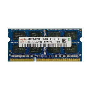 Hynix 4GB RAM Memory 2Rx8 PC3-10600S-9-11-F3 DDR3 1333Mhz