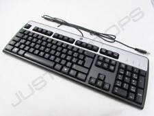 New HP Swiss Schweiz Desktop USB Keyboard Clavier Tastatur KU-0316 DT528A