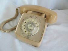 Vintage GTE Automatic Electric Rotary Dial Phone Telephone Untested Operator