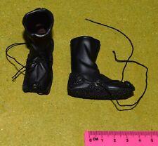 """1//6 Scale Brown Bottes Chaussures Peg basé à 12/"""" mâle figurine accessoire"""
