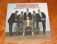 Commissioned Ordinary Just Won't Do Poster Flat Square Promo 12x12 R&B Rare