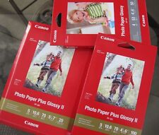 Canon Glossy Photo Paper Plus- Combo pack- 5x7 4x6