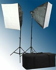 Fancierstudio 2600 Watt Softbox Lighting Kit Video Light Studio